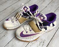 Nike KD 7 VII GS PB&J White Hyper Punch Grape Kevin Durant 669942-155 Sz 5.5Y