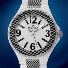 New Invicta White Ceramic Men's Watch