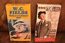 Lot of 2 W.C. Fields (World's Funniest Man/The Best Of)