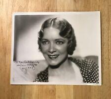 HELEN HAYES Autograph 8 x 10 Photo JSA Certified Signature Film Cinema Actress