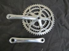 170 CAMPAGNOLO 8 SPEED TRIPLE 30 42 52  RACING T CRANK SET  BICYCLE TOURING
