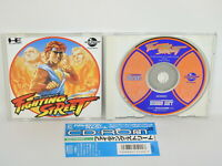 PC-Engine CD FIGHTING STREET with SPINE * PCE Grafx Japan pe