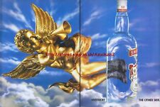 "Smirnoff Vodka ""Cupid"" 1993 Magazine Advert #3071"