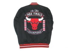 Size 3XL NBA Chicago Bulls Commemorative  Jacket Black JH Design  New XXXL