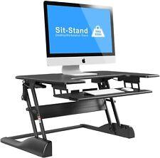 1home Adjustable Height Sit-Standing Desktop Workstation Desk Computer Riser