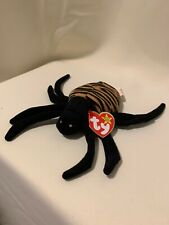 SPINNER THE SPIDER 1996 TY BEANIE BABY Halloween Decoration See My Store! NEW!