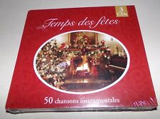 Temps des Fetes 50 Chansons Instrumentales French Christmas 3 CD Set - Brand New