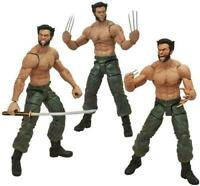 "Marvel Select The Wolverine Movie 7"" Action Figure Hugh Jackman 21"