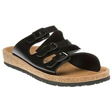 Birkenstock Black Relax 300 triple strap Sandals UK7.5 EU 41 JS34 38