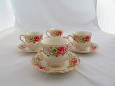 """JAMES KENT """" OLD FOLEY - HARMONY ROSE """" PATTERN 3 x CUPS & SAUCERS"""