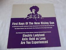 Jimi Hendrix 12X12 Promo Flat First Rays of the New Rising Sun 97 Not Cd or Lp