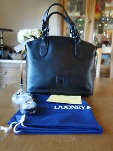 Dooney & Bourke - Florentine Leather Celeste Satchel - Black
