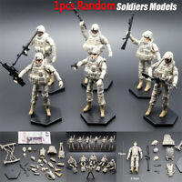 1pcs 1:18 US 101st Airborne Division Soldiers Action Figure Models With Weapon
