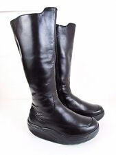 MBT Tambo Black Leather Boots EUR 35 2/3=US Women's 6