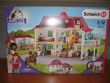 Schleich Neuheit 9/18 - Gro�Ÿer Pferdehof mit Wohnhaus und Stall 42416 - NEU&OVP