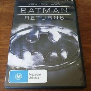 Batman Returns DVD R4 Like New! FREE POST