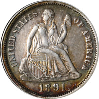 1891-O Seated Liberty Dime Great Deals From The Executive Coin Company