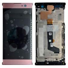 Sony écran LCD complet avec cadre pour Xperia XA2 rose ÉCHANGE RÉPARATION NEUF