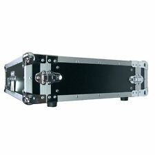 "3 HE 19"" Flightcase Rack Case Schrauben Endstufe Einbautiefe  43 / 48 cm  NEU"