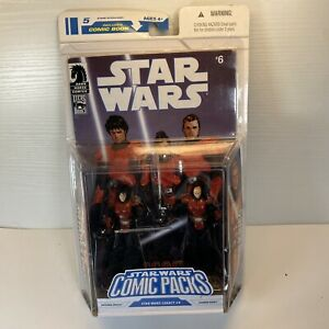 NEW STAR WARS COMIC PACKS #6 ANTARES DRACO/GANNER KRIEG ACTION FIGURES HASBRO!