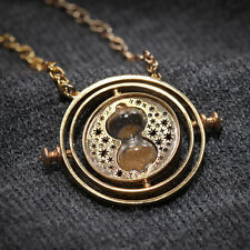 Harry Potter Hermione Granger's Time Turner Necklace Rotating Pendant UniqueGift