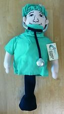 Doctor MD Scrubs Stethoscope Creative Covers Golf Headcover fits Driver 460cc