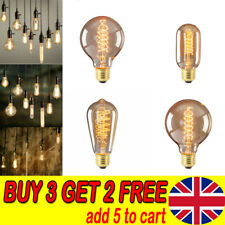 Antique Style Edison Vintage LED Light Bulbs Industrial Retro Lamps B22 or E27 F