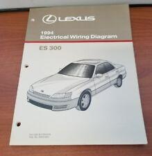 NEW LEXUS 1994 ES300 ELECTRICAL WIRING DIAGRAM FOR USA CANADA EWD186U