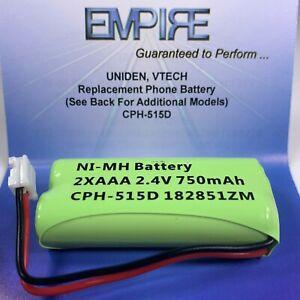 Replacement Battery Pack BT18433 BT28433 2.4V 500mAh for Vtech Cordless Phone