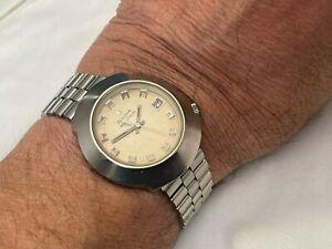Bulova accutron dyapason in acciaio inox braccialato vintage del 1970 cal-218 ok