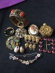 Joblot Czech Jewellery Items X 10