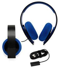 Cuffie con microfono integrato con via cavo per videogiochi e console, per Sony PlayStation 4