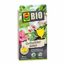Compo Bio Gelbsticker Décor 10 St Piège à Colle Pucerons Trauermücken