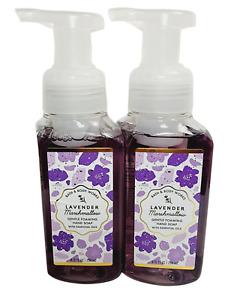 2 Bath & Body Works LAVENDER MARSHMALLOW Gentle Foaming Hand Soap 8.75oz NEW