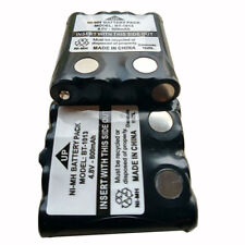 2x Battery Packs For Uniden 2 Way Radio Walkie Talkie BP-38 BP-40 BT-537 BT1013