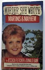 Murder She Wrote Paperback Book  MARTINIS & MAYHEM  By Jessica Fletcher / D Bain