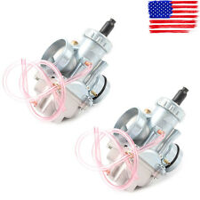 2 pcs Carburetors 29mm For Yamaha Banshee YFZ350 1987-2006 ATV Carbs YFZ 350 New