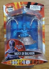 Doctor Who Action Figure Moxx of Balhoon Bbc Sealed, New!