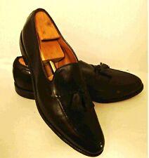 Allen Edmonds Grayson Tassel Loafer Black Shoes ~ Size 14 A  #8217