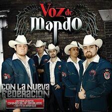 Voz De Mando Con La Nueva Federacion CD New Nuevo contiene 500 balazos