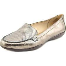 Zapatos planos de mujer mocasines de piel color principal marrón