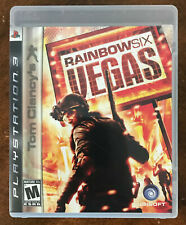 Rainbow Six: Vegas Playstation 3 PS3 Game (Cleaned & Sanitized)