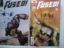 C 1679 Image Comics 2002 FUSED Vol 1, No. 2  and 4 M / NM