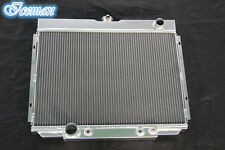 """NEW 3 ROWS 67 68 69 70 FORD MUSTANG CAR 24"""" WIDE ALUMINUM RADIATOR CU379"""