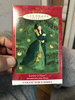 2000 Hallmark Keepsake Gone With the Wind Ornament Scarlett O'Hara NEW series 4