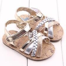 Newborn Toddler Girls Summer Beach Prewalker Sandals Comfortable Baby Crib Shoes