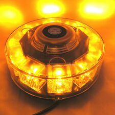 New 30W 10 LED Car Emergency Beacon Light Bar Strobe Flashing Warning Lamp Amber