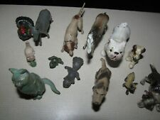 Lot of 16 metal, steel, cast iron animal figurines, Germany, France, Other maker
