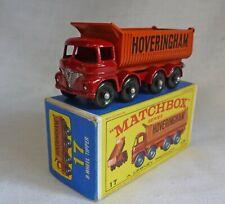 "Lesney Matchbox Toys MB17d Foden ""Hoveringham"" 8 Wheel Tipper RARE E3 BOX"