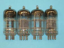 12AT7 AUDIO GUITAR AMPLIFIER HAM RADIO TV tube - set of (4) - TUNG-SOL Brand